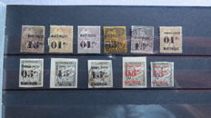 Former French colonies 1893/1982 - collection of stamps
