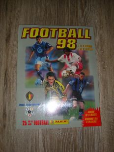 Panini - Football 1998 Belgian League - Factory sealed album (= empty album + complete loose sticker set in seal).