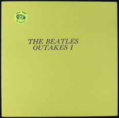 The Beatles ‎– Outakes 1 (Very Rare 'Trade Mark Of Quality' Unofficial U.S LP From 1975 With Yellow Vinyl As New)