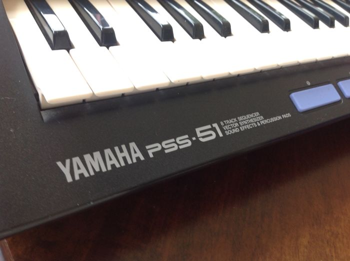 Vintage Yamaha PSS-51 (1992) - Vector Synthesizer - Collector's Item -  Catawiki