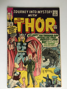 Marvel Comics - Journey Into Mystery / Thor #113 - 1x sc - (1965)
