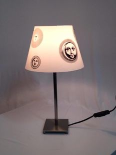 Fornasetti for Antonangeli - 'Sun and moon' table lamp