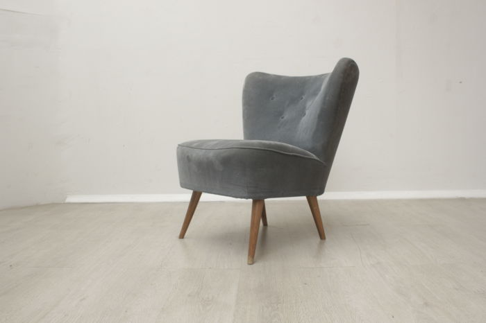 Cocktail Stoel Vintage : Vintage cocktail armchair s catawiki