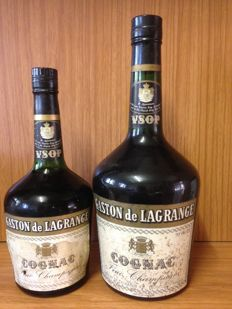 Gaston de Lagrange VSOP Cognac - Magnum 1,5 L & regular 70cl bottle - Bottled 1960s