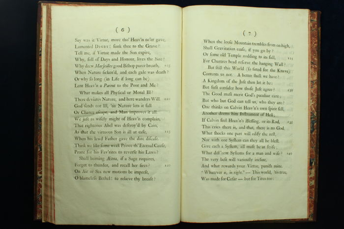 an essay on man epistle i 1733 An essay on man – wikipedia is a poem published by alexander pope in 1733 1734  tspace (1688-1744) an essay on man: epistle ii i 1 know then thyself, presume.