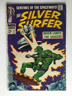 Marvel Comics - The Silver Surfer #2 - 1x sc - (1968)