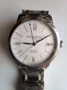 Elegant and sophisticated watch - NEW collection by Baume & Mercier - CLASSIMA GMT, men's wristwatch