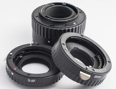 Extension Tube set for Sony A mount Camera