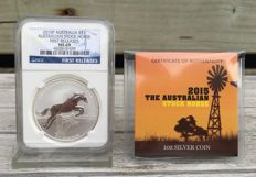 Australia - Australian Stock Horse 2015 - First Releases - NGC MS69