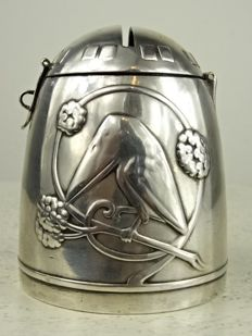 WMF - Silver-plated Art Nouveau piggy bank