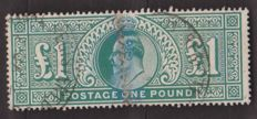 Great Britain 1902/1910 – Yvert 121.