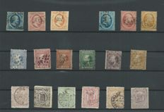 The Netherlands 1852/1891 – Classic selecton – NVPH 1 to 29 and 34 to 47