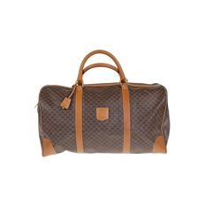 Celine - Macadam Boston 50 - Vintage travel bag for a weekend - *No Minimum Price*