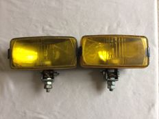 Set of two spotlights - diameter 14 x 7.5 cm - Made in France.