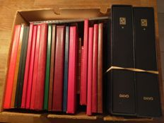 World 1855/1990 - Countries/Theme collection in 19 stock books and 2 Davo Kosmos albums with storage box