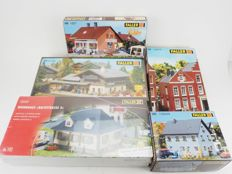 Faller H0 - 130459/100/1227/130976/130248 - Five unbuilt houses