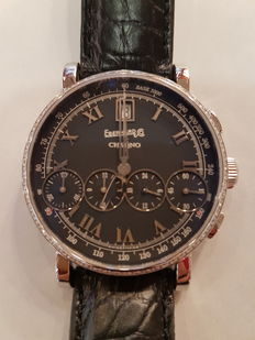 Eberhard Chrono 4 - Beautiful, new, unisex watch.