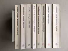 Privé-domein; Lot with 8 volumes of French literature - 1975 / 1989