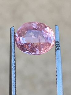 Pink sapphire - 2.91 ct