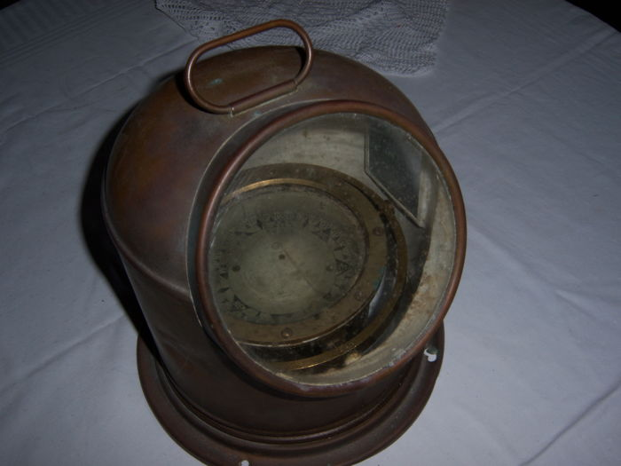 Marine compass binnacle - mid-20th century