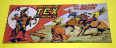 Tex strip 1st series, issue no. 51 - first edition, not a reprint (1948)