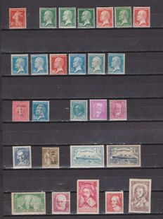 France 1906/1937 - Set of Complete Series