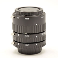 Digital extension ring set 12, 20 and 36 mm for Nikon (2059)