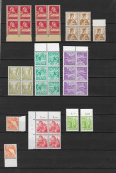 Switzerland 1882/1959 - Selection between Michel 58/671