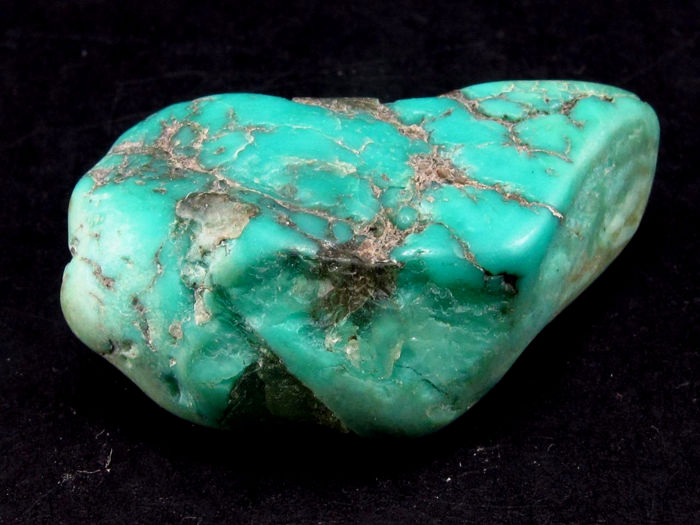 Genuine Sleeping Beauty Turquoise - 3.2x1.8x1.2cm - 12.2 gm / 61 ct