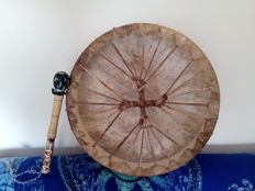Shamanic drum with beater