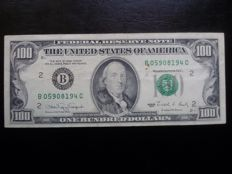 USA - 100 Dollars 1990 - Federal reserve - Green seal