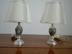 Pair of table lamps Italy, 1960