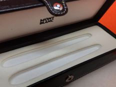 Montblanc Artisan Leather Pen Pouch Croco Style
