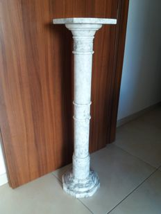 Elegant marble column - early 20th century, Italy