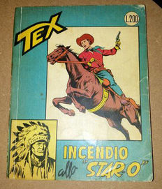 Tex gigante no. 42 - stapled - first edition (1964)