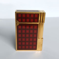 S.T DUPONT lighter, line 2, GATSBY, Chinese lacquer and gold plated, VERTIGO