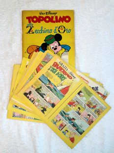 "Topolino - supplements to Grazia Disney 1/8 cpl + ""Topolino allo Zecchino d'Oro"" (1970/1974)"