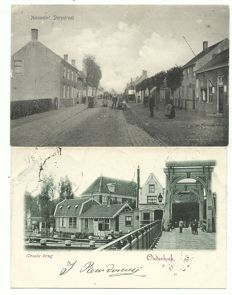 Collection of postcards consisting of Dutch villages and towns 82 x