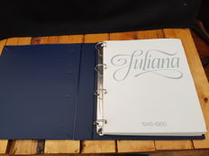 The Netherlands - Collection Juliana, complete including silver in album