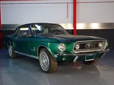 Ford - Mustang hardtop 289CI (4.7L) V8 - 1968