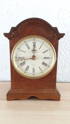 Wooden promotion Jewellers table clock - Van Wuba-Warmink - 2nd half of the 20th century
