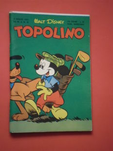 Topolino libretto, album no. 72 - first edition, not a reprint (1953)