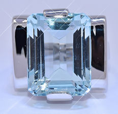 11.46 Ct Aquamarine ring - NO reserve price!