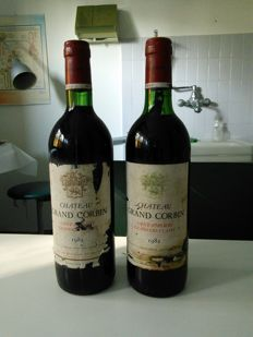 1982 Chateau Grand Corbin, Saint-Emilion Grand Cru Classe - 2 Bottiglie