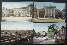 The Hague, the Netherlands-more than 300 different old postcards
