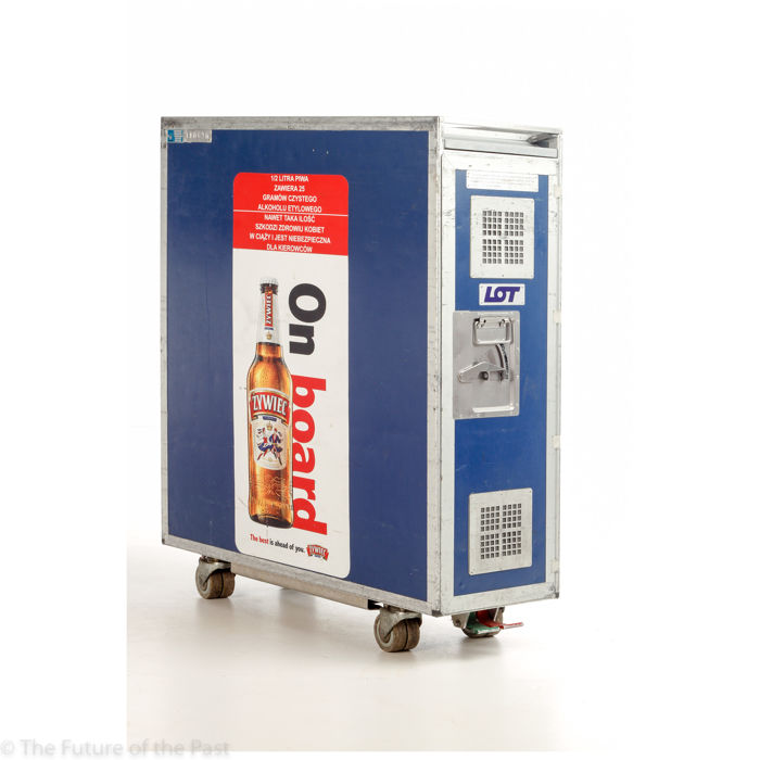 driessen aircraft interior systems for lot polish air aeroplane serving trolley including