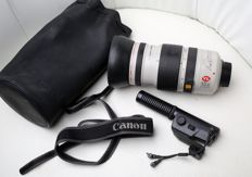 Canon- Lens CL 8-120 mm  for camera VL XL zoom X 15 + a microphone and case