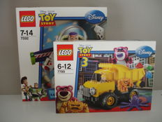 Toy Story - 7592 + 7789 - Buzz Lightyear + Lotso's Garbage truck