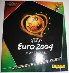 Panini - Euro 2004 - Portugal - Complete album + all backsides of the complete sticker set