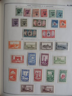Algeria 1924/1985 - Collection in a binder
